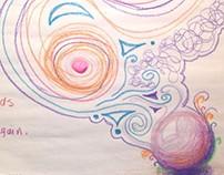 Magician - Oil Pastels