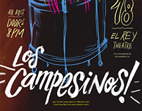 Campesinos Poster — IHC — 2012