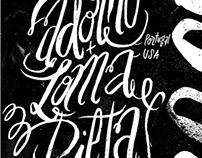Adorno & Loma Prieta Poster — 2012