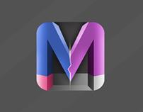 (M) icon
