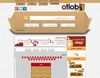 Otlob Saudi Arabia Web Design