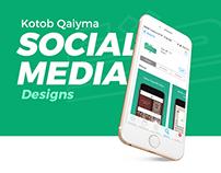 Kotob Qaiyma - Social Media for Mobile App