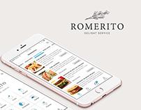 Romerito App UI/UX