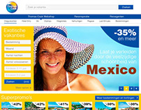 Redesign Thomas Cook website