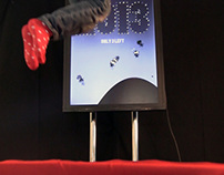Worlds First Digitally Interactive Trampoline
