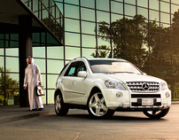 Mercedes SUV's Campaign