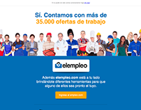 Email Marketing: elempleo.com