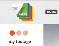 LA7 Sales - web portal for historical video tv LA7