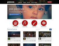 """Picovico"" UI"