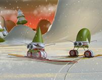 3D + Motion Graphics _ Gnomos Navidad