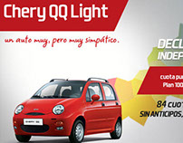 Chery QQ Light - newsletter