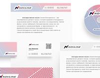 NOVLINE branding