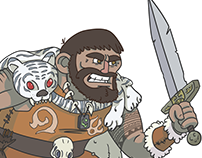 Dungeons and Dragons Character Designs