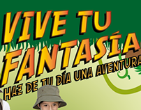 Vive tu Fantasia ( ilustración + branding )