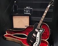 Guitar Studio Scene