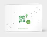 Pienes pukas (dandelion fluff) product catalog