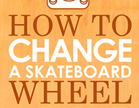 How to Change a Skate board Wheel