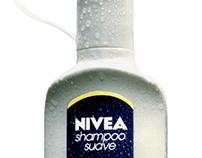 Packaging shampoo Nivea