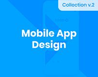 Mobile UI UX Design vol 2