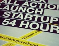 Poster / Startupweekend Groningen 2011