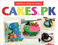 Brochure for Cakes.pk