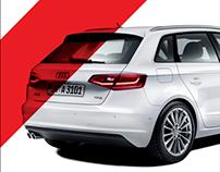 Audi A3 Sportback | Temporary Store