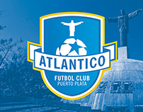 Atlantico Puerto Plata Futbol Club Branding