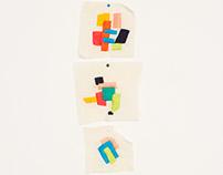 Geométrica embroidery series