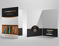 [Free PSD] Presentation Folder Mockup Template