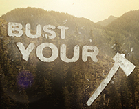 History Channel - Ax Men 'Bust Your Ax' promo