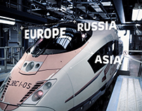 Russian Railways Advertising Campaign
