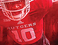 2017 Rutgers Football Posters