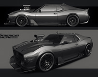 Generic muscle car