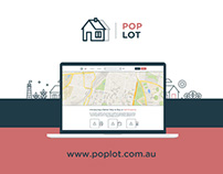 PopLot Property Platform new website design