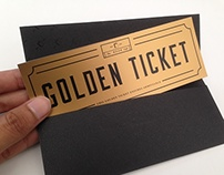 Golden Ticket, The Book Cafe