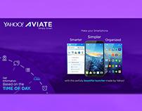 Yahoo Aviate Poster