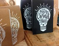 Mon superbe carnet à idées / My great notebook