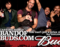 Budweiser Band of Buds POS