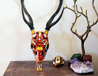 Wings That Swoon // Deer Sculpture
