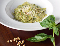 Food Photography for Pesto Autentico