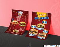 """""""Menu Mr Burger"""""""