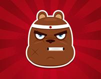 Bears vector illustrations
