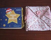 Projeto Livro-Objeto: Moedas de Estrelas