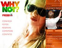 Pacha Floripa - Website