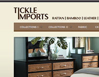 Tickle Imports Website Redesign