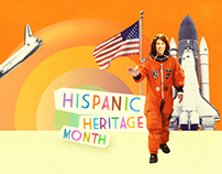 Hispanic Heritage Month Animation Campaign