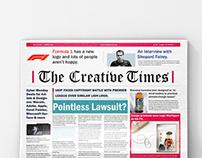 The Creative Times | Broadsheet newspaper