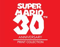 Super Mario 30TH Anniversary Prints