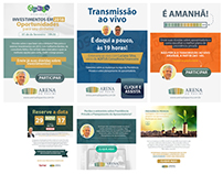 Newsletter Tamer/Arena do Pavini