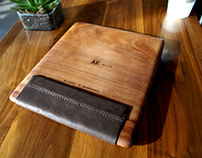 Jatoba Wood iPad Case